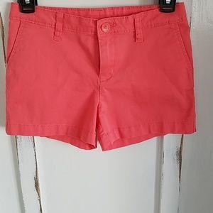 Girls Salmon-colored Shorts